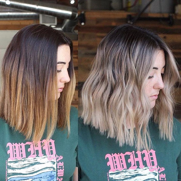 Medium Ombre Hair Ideas
