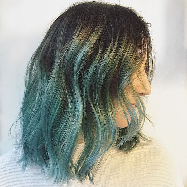 Medium Ombre Hairstyles For Women
