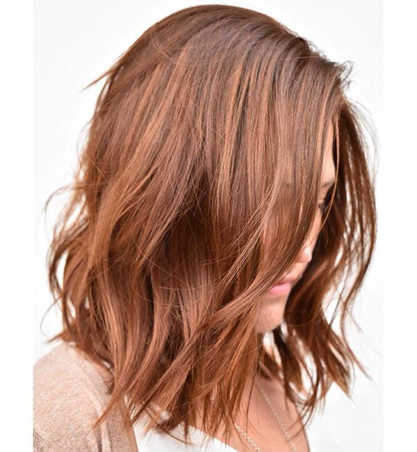 2020 Medium Red Haircuts
