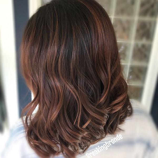 Medium Chocolate Hair Examples