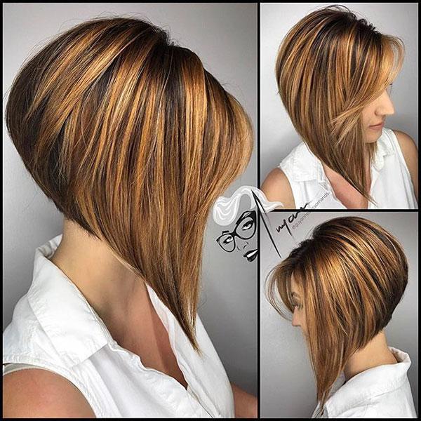 Sharp Medium Hairstyles For Women