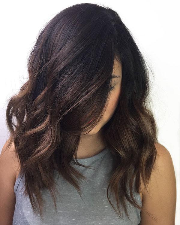 Haircuts For Medium Chocolate Hair