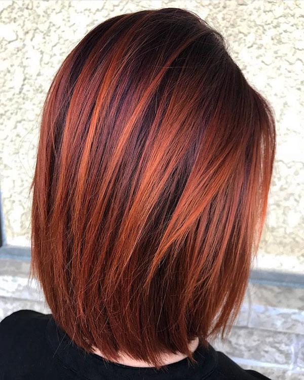 Best Medium Red Haircuts