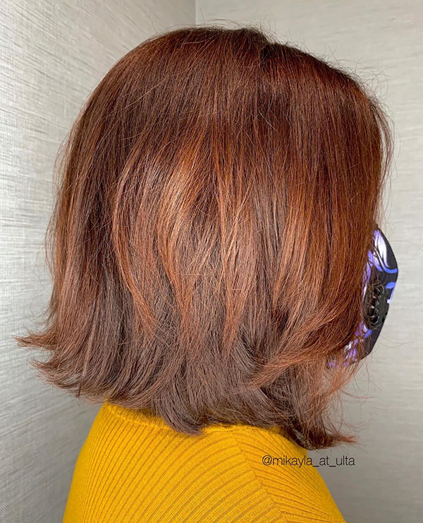 Medium Red Hair