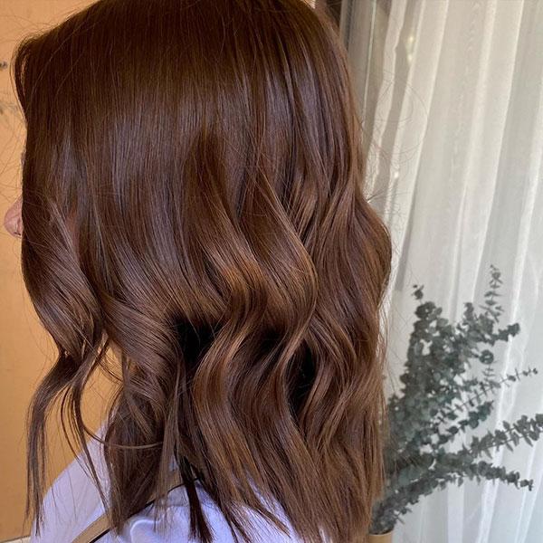 Medium Chocolate Hairstyles