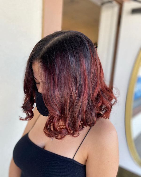 Examples Of Medium Red Hair