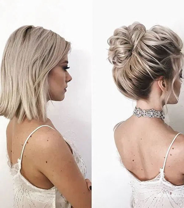 Bun For Medium Hair