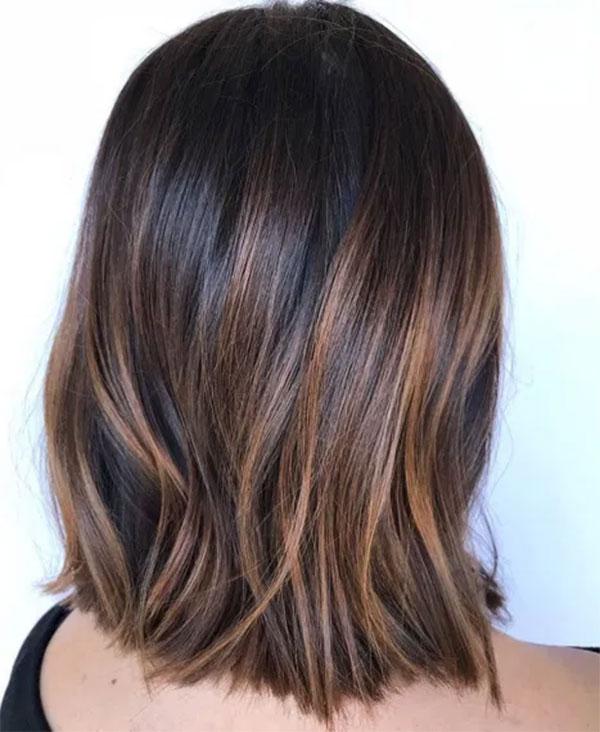 Medium Brown Hair With Light Brown Highlights
