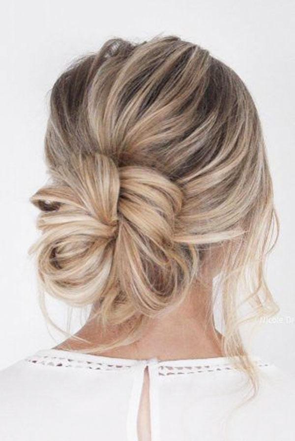 Bun Styles For Medium Hair