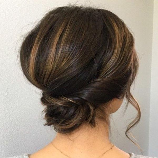 Cute Bun Hairstyles For Medium Hair
