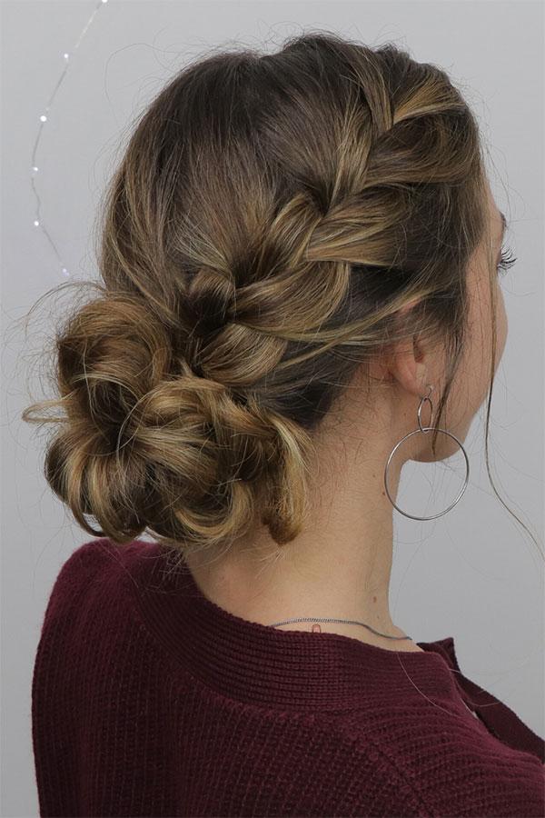 Bun Ideas For Medium Hair